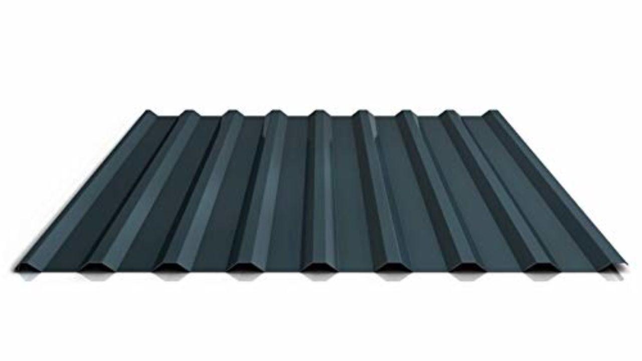 Material Stahl Farbe Anthrazitgrau Flachblech Kantblech Beschichtung 25 /µm St/ärke 0,50 mm Dachblech
