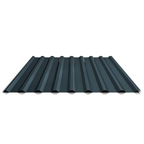 Trapezblech   Profilblech   Dachblech   Profil PS20/1100TR   Material Stahl   Stärke 0,50 mm   Beschichtung 25 µm   Farbe Anthrazitgrau