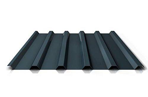 Dachblech St/ärke 0,40 mm Profil PS35//1035TR Beschichtung 25 /µm Material Stahl Trapezblech Profilblech Farbe Anthrazitgrau